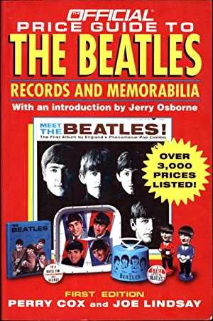 The Official Price Guide to The Beatles Records and Memorabilia / First Edition / Over ...