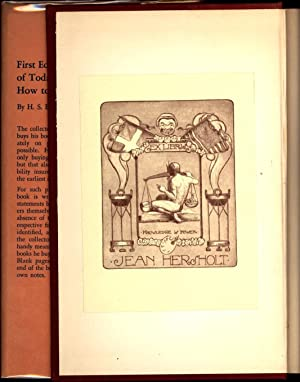 The Romance of Modern First Editions (THE JEAN HERSHOLT COPY): de Halsalle, Henry