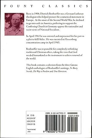 Dietrich Bonhoeffer / Selected Writings: Bonhoeffer, Dietrich / Edited by Edwin Robertson