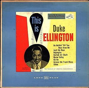 This Is Duke Ellington / The Treasury of Immortal Performances (VINYL JAZZ LP): Ellington, ...