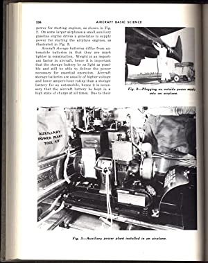 Aircraft Basic Science; Aircraft Power Plants; and Aircraft Maintenance and Repair, 1953-1955 ...