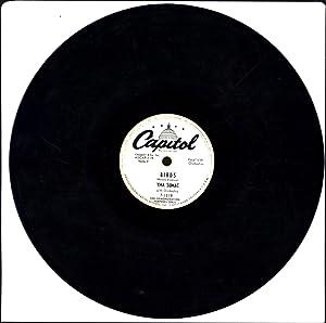 Birds / Najala's Lament (78 RPM WHITE-LABEL DJ SINGLE): Sumac, Yma