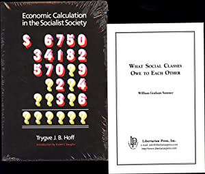 Economic Calculation in the Socialist Society, AND: Hoff, Tyrgve J.B,