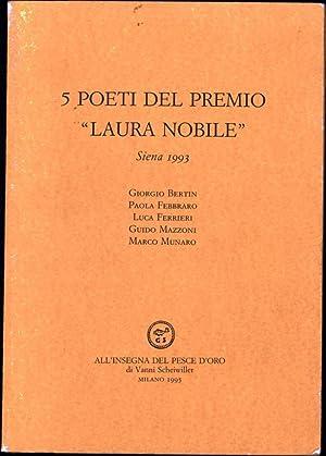 """5 Poeti Del Premio """"Laura Nobile"""" /: Bertin, Giorgio; Paola"""