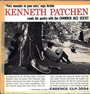 Kenneth Patchen reads his Poetry with the Chamber Jazz Sextet (VINYL SPOKEN WORD LP)