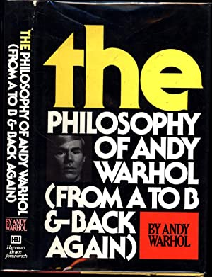 The Philosophy of Andy Warhol (From A to B & Back Again) (SIGNED)