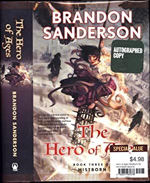 The Hero of Ages / Book Three of Mistborn (SIGNED)