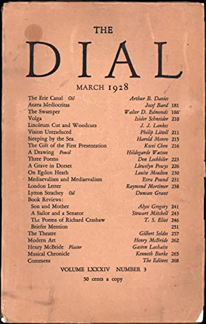 The Dial, March 1928 / Volume LXXXIV Number 3