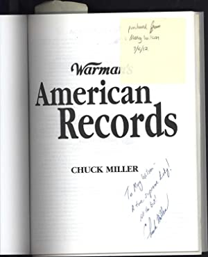 Warman's American Records 1950-2000 / Identification & Price Guide (SIGNED TO MARY ...