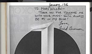 The Billboard Book of Number One Hits (SIGNED TO MARY WILSON OF THE SUPREMES): Bronson, Fred