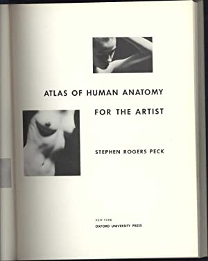 Atlas of Human Anatomy for the Artist: Peck, Stephen Rogers
