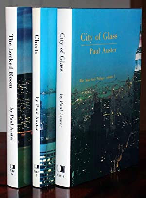 The New York Trilogy: City of Glass,: Auster, Paul
