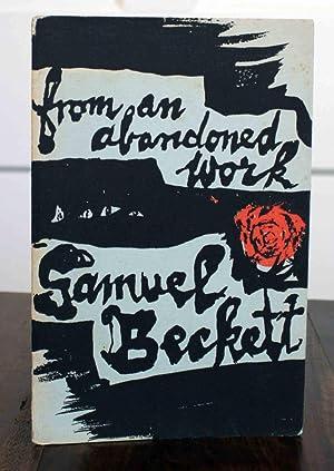 From an Abandoned Work (First Printing): Beckett, Samuel
