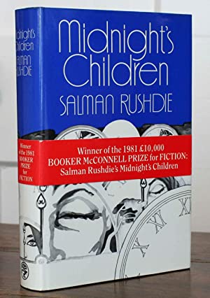 Midnight's Children (Signed and with Booker Prize: Rushdie, Salman