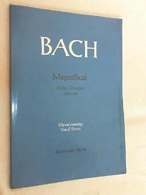 Magnificat - D-Dur D-major - BWV 243: Bach, Johann Sebastian: