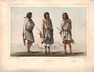 Moquis, Indian Portraits, Plate 6, from the Report upon the Colorado River of the West, explored ...