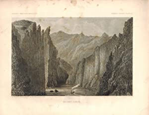 Mojave Canyon. General Report, Plate III. from the Report upon the Colorado River of the West, ex...
