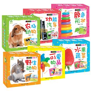 Aide childrens intelligence childrens puzzle toy set (set all 6 volumes)(Chinese Edition) AI DE SHAO ER ZHU New Softcover