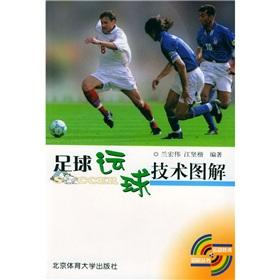 The soccer dribbling technology graphic(Chinese Edition): LAN HONG WEI