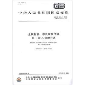 Metallic materials - Vickers hardness test methods: BEN SHE.YI MING