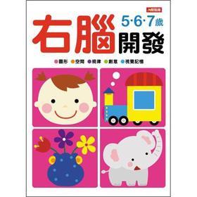 Right Brain Development: 5.6.7-year-old(Chinese Edition): XIAO HONG HUA TONG SHU GONG ZUO SHI