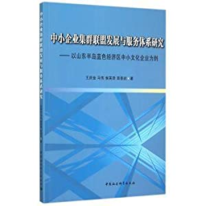 Small and Medium Enterprises Cluster Alliance and service system(Chinese Edition): WANG QING JIN . ...
