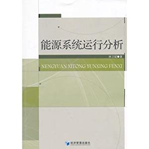 Energy System Operational Analysis(Chinese Edition): LIN WEI BIN