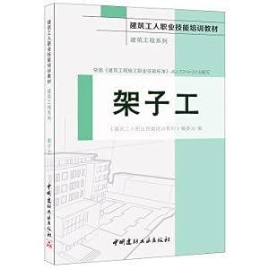 Scaffolder. series of construction engineering. construction workers: BIAN WEI HUI