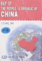 Map of The People's Republic of China(In: BEN SHE,YI MING