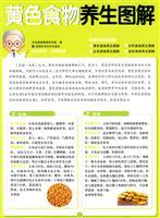 yellow food health graphic (Paperback)(Chinese Edition): BEN SHE,YI MING