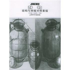 structure and chiaroscuro still life drawing (paperback)(Chinese Edition): LI YI CHAO
