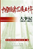 50 on China s economic development: Events [Paperback](Chinese Edition): ZHONG YANG CAI JING LING ...
