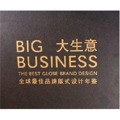 big business: The Best Global Brands Layout Design Yearbook [hardcover](Chinese Edition): SHAN HE ...