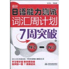 latest Japanese Language Proficiency Test vocabulary weekly: ZHANG HONG HONG