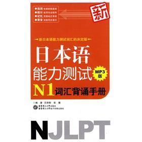 new vocabulary recitation of Japanese Language Proficiency: WANG LI YING