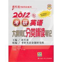 2012 Directions vocabulary list of categories Intensive: JIANG JUN HU