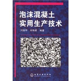 foam concrete practical production technologies(Chinese Edition): YAN ZHEN JIA.