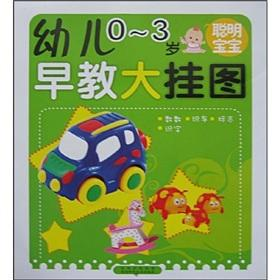 Children 0-3 years old smart baby early childhood large wall chart(Chinese Edition): TIAN ZHAN ...