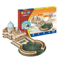 Vatican's St. Peter's Basilica (A version for: AI PIN YI