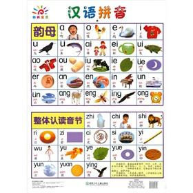 Large wall chart of the sun baby: Hanyu Pinyin(Chinese Edition): LAN SHAN
