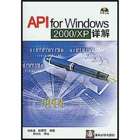 API for the Windows 2000XP Detailed(Chinese Edition): ZHANG GUI YONG.