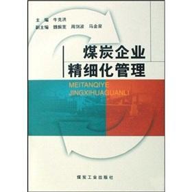 Meticulous management of the coal enterprises(Chinese Edition): NIU KE HONG