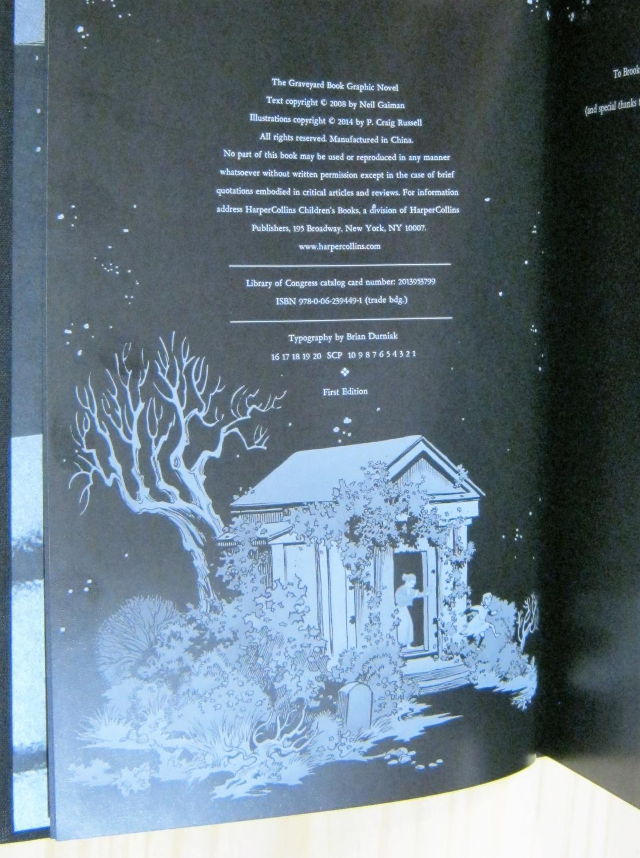 The Graveyard Book Graphic Novel Single Volume Signed Limited Edition: Gaiman, Neil