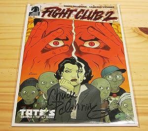 Fight Club 2 #1 Amanda Connor Variant Signed Comic: Palahniuk, Chuck