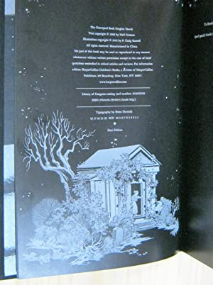 The Graveyard Book Graphic Novel Single Volume Signed Limited Edition: Gaiman, Neil