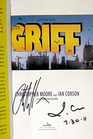 The Griff: A Graphic Novel (Signed X2, Dated, Covers): Moore, Christopher; Corson, Ian