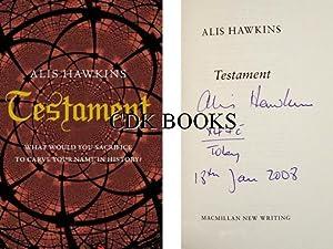 Testament: Hawkins, Alis
