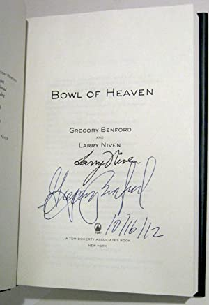 Bowl of Heaven (Signed X2, Dated): Benford, Gregory; Niven, Larry