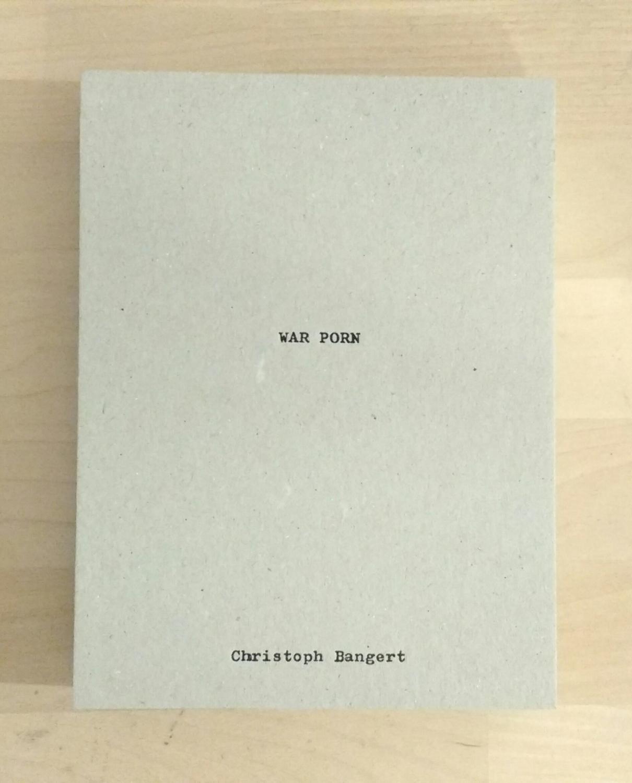 War Porn Christopher Bangert Near Fine Hardcover