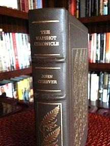 The Wapshot Chronicle (Leatherbound) plus Notes from the Editor: Cheever, John